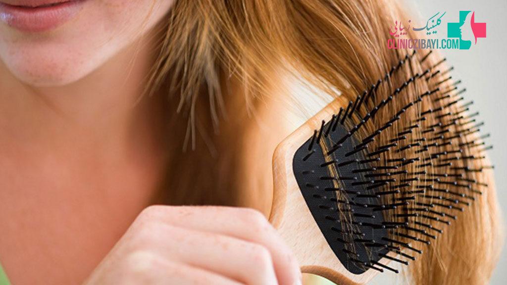 درمان ریزش موی سکه ای در شیراز