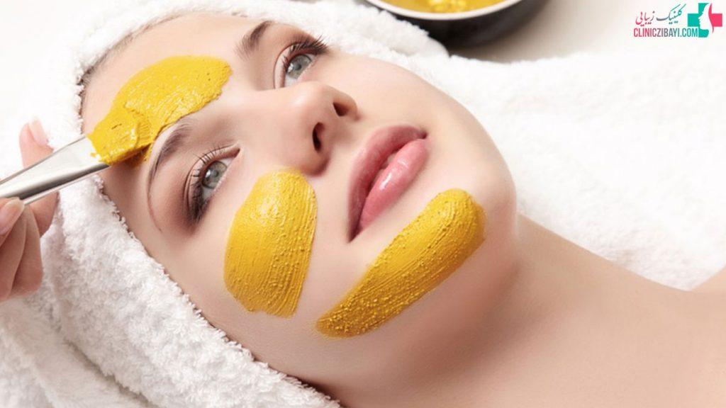 ماسک درمان لک های صورت