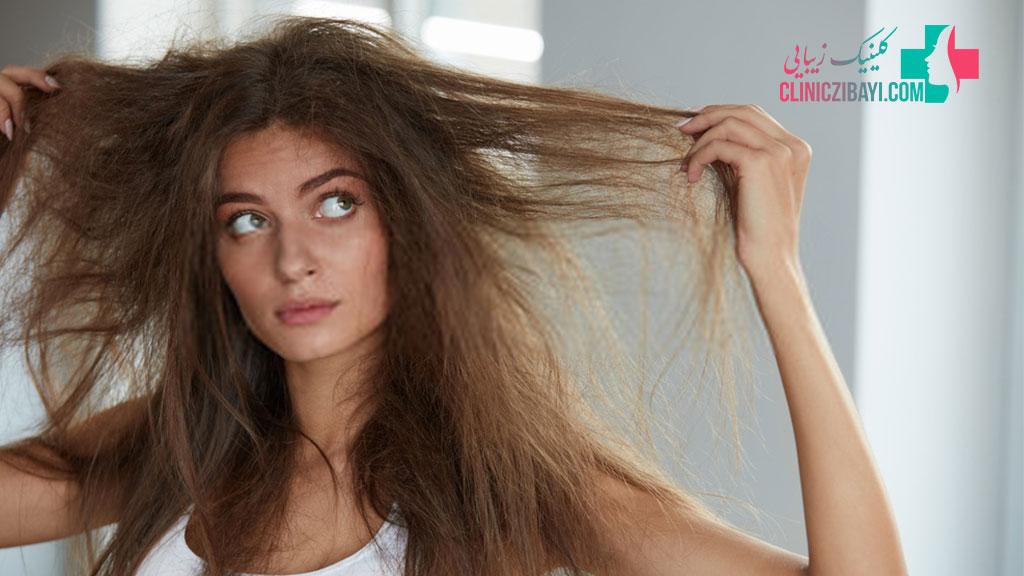 عوامل موثر در خشکی مو